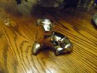 Dansk Silver plate dog paperweight
