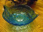 Tiara Exclusives Aloha blue serving bowl