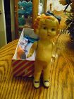 "Shirley Temple 6"" frozen Charlotte Doll  20's - 30's"