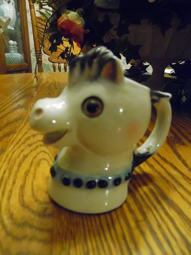 Vintage Nasco pony creamer pitcher