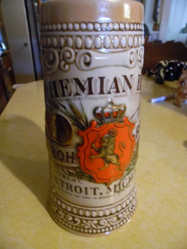 Bohemiam Beer  Brewing Co. beer stein Strohs