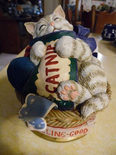 Feline-Good Danbury Mint Quotable Cats Sculpture Collection