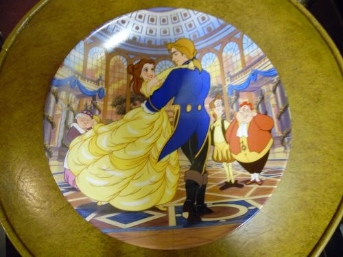 "Beauty and the Beast ""The Spell is Broken"" Plate Knowles"