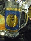 Crystal Bill Clinton Al Gore 1997  Inagural mug shiny Gold and blue