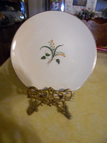 Knowles China Forsythia pattern Bread and butter plate