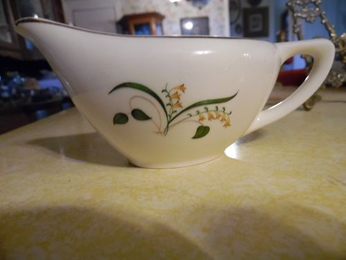 Knowles China Forsythia pattern creamer