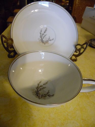 Vintage Noritake candice pattern cup and saucer #5509