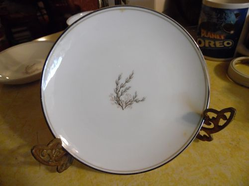 Vintage Noritake candice bread and butter plate