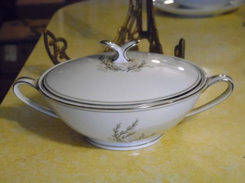 Vintage Noritake Candace #5509 Sugar bowl and lid