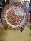 Currier and Ives Harvest dinner plate 10 3/8""