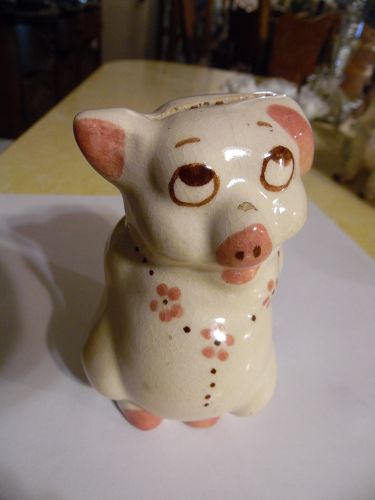 Rio Hondo Pottery Shy Pig coin bank
