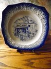 Early American by SalemDinner plate flow blue