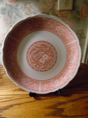 Syracuse  Restaurant Ware Strawberry Hill Dinner plate 9 1/4""