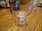 Imperial Candlewick Crystal Short Dome Stemmed Sherbet #400-18 Rare