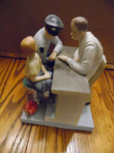 Dave Grossman Runaway 905 Norman Rockwell figurine limited ed. Rare