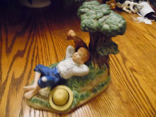 "Spring Fever 1985 Norman Rockwell Museum 5.25"" Tall Figurine"