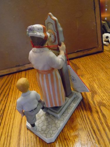 Norman Rockwell figurine American Childhood Series Tipping the scale