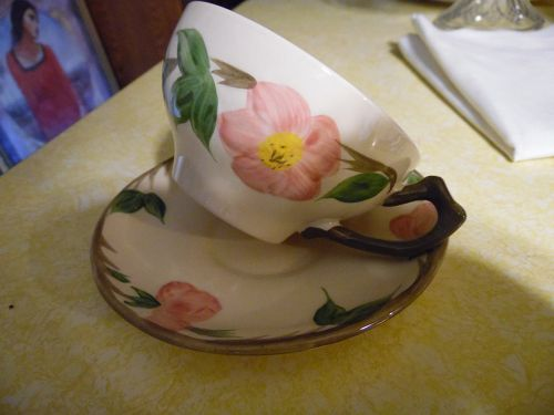 Franciscan Desert Rose cup and saucer set Made in England