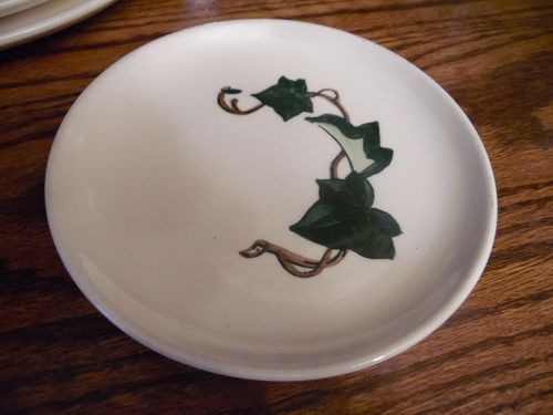 Metlox Poppytrail California Ivy 6.5 inch bread and butter plate