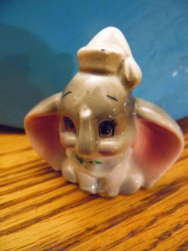 Vintage Walt Disney Productions ceramic Dumbo figurine