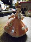 Josef Originals Doll of the month July girl with cat
