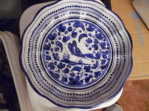 Vintage Taormina Arbesco Classico shallow bowl