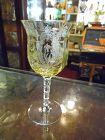 TIffin La Fleure Mandarin wine glass with RARE stem 15063