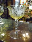 TIffin La Fleure Mandarin champagne / sherbet with RARE stem 15063