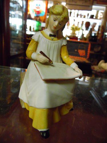 Smy figurine Franklin Mint Little Women figurine