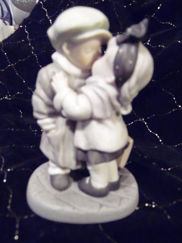 "Enesco ""We've Only Just Begun"" NBM Bahner Figurine 1997 Kim Anderson"