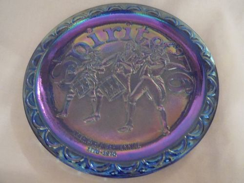 Vintage Spirit of 76' Commemorative plate by Indiana Glass