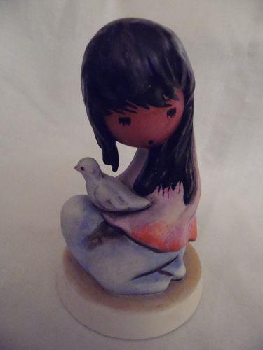 Goebel Degrazio White Dove figurine 1983  #10 314