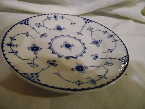 "Furnivals Denmark Blue  6 1/8"" plate Made in England"