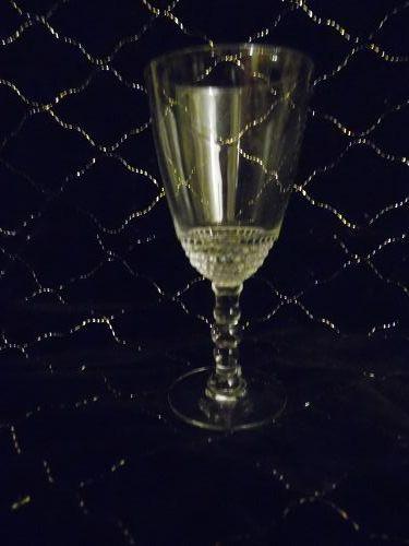 """Duncan Miller teardrop wine claret 5"""""""
