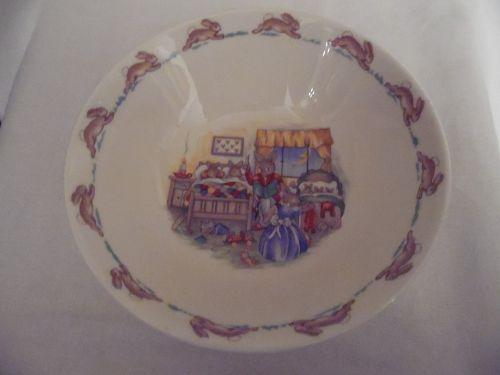 Royal Doulton Bunnykins  cereal bowl 1936