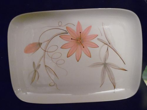 Winfield Passion Flower large rectangular serving platter