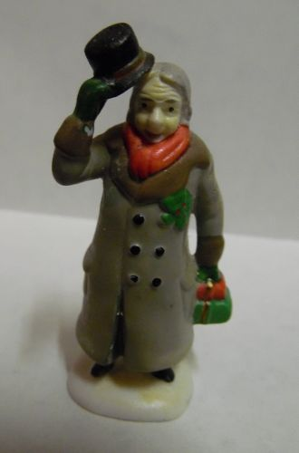 Dept 56 Dickens Village Ebinezer Scrooge # 55883 Retired
