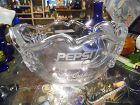 Mikasa etched crystal Pepsi awards bowl Pepsi Sun Oaks Champion '92