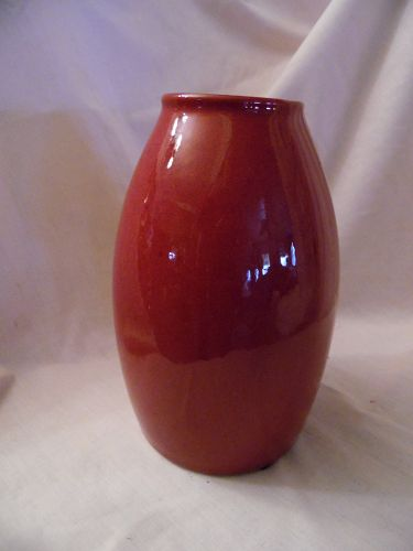 SCHEURICH AMANO vase ox blood red #629-18 Germany
