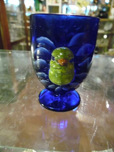 Cobalt Blue Child's cup chick hatching
