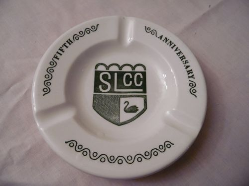 Vintage SLCC Fifth Anniversary ashtray by Royal China