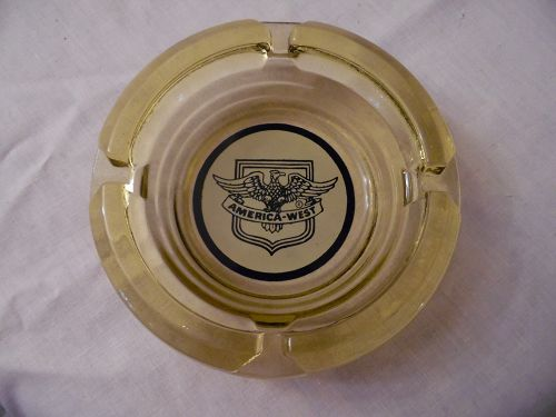 Vintage America-West Ash Tray Eagle and shield