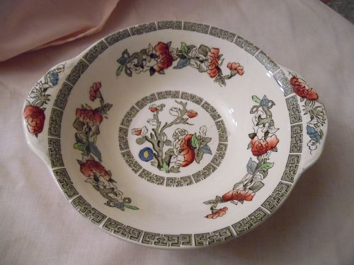 Johnson Brothers Indian Tree tabbed cereal bowl