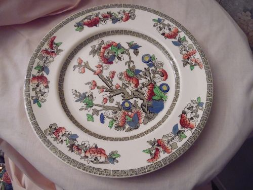 """Johnson Brothers Indian Tree 10"""" dinner plate"""
