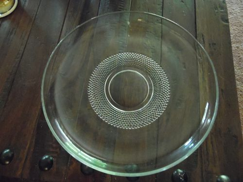 "Duncan Miller teardrop 12"" low console bowl"