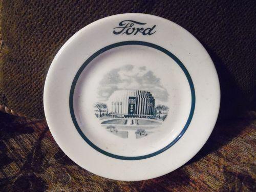 Shenango China Ford Rotunda Commemorative plate 1957