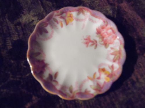 Vintage Spode China Irene butter pat,  hard to find