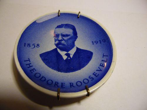 Royal Copenhagen Denmark President Theodore Roosevelt Mini Plate