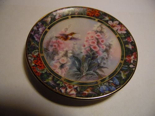 Lena Liu's Hummingbird Treasury mini plate Rufous Hummingbird #5