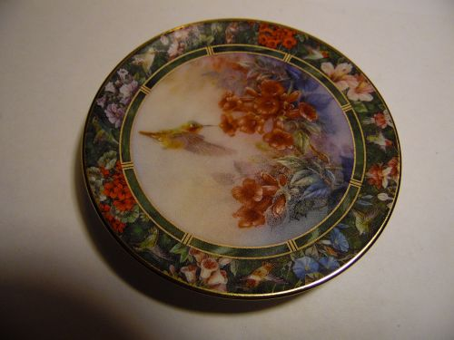Lena Liu's Hummingbird Treasury mini plate Allen's Hummingbird #8